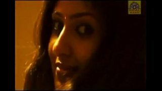 South Indian actress Monica Azhahi Bed Room Scene from the movie Silanthi